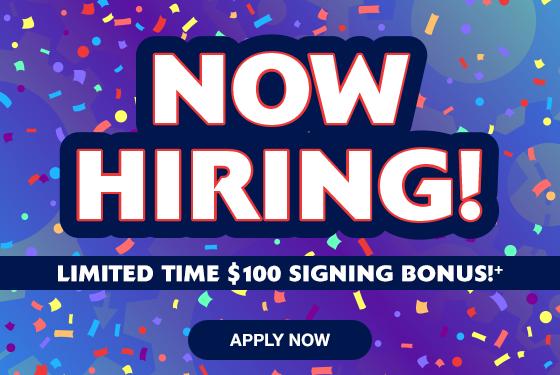 Now Hiring - Bonus