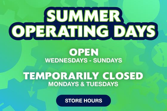 Summer Operation Hours Slider
