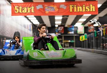 Mtn. Dew Go-Kart Racing
